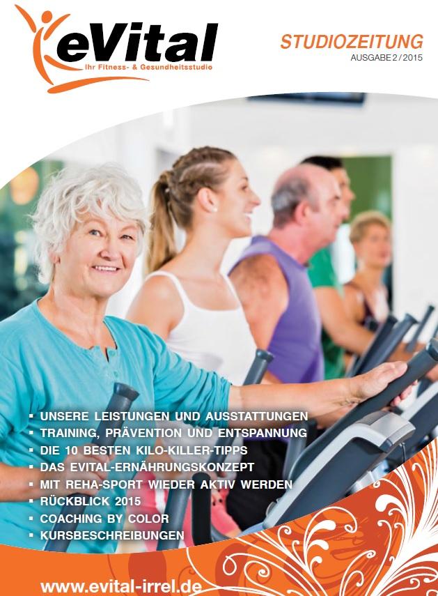 Studiozeitung Ausgabe 2 - eVital Fitness- und Gesundheitsstudio Premium-Club Irrel