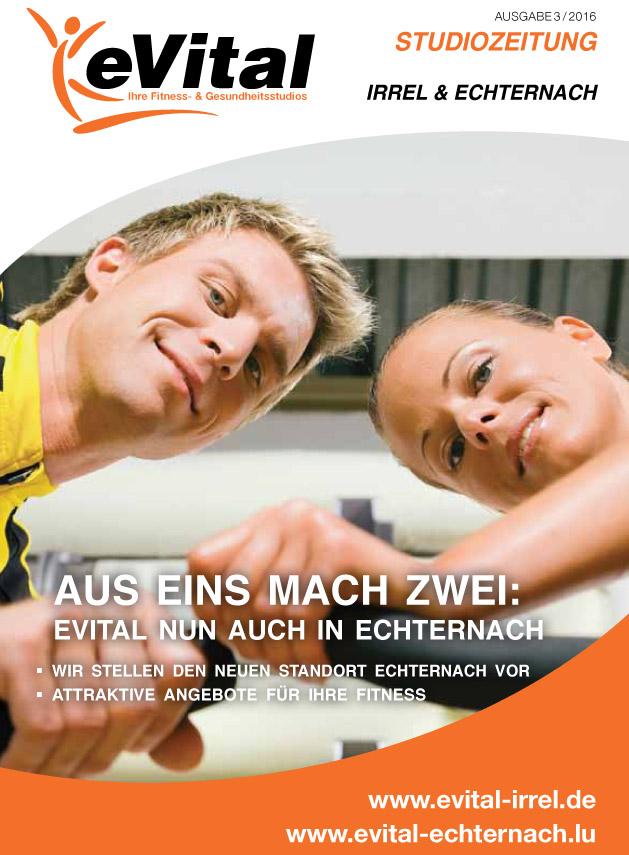 Studiozeitung Ausgabe 3   eVital Fitness- und Gesundheitsstudio Premium-Club Irrel