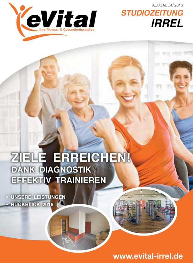 Studiozeitung Ausgabe 4 - eVital Fitness- und Gesundheitsstudio Premium-Club Irrel