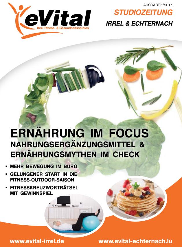 Studiozeitung Ausgabe 5 - eVital Fitness- und Gesundheitsstudio Premium-Club Irrel