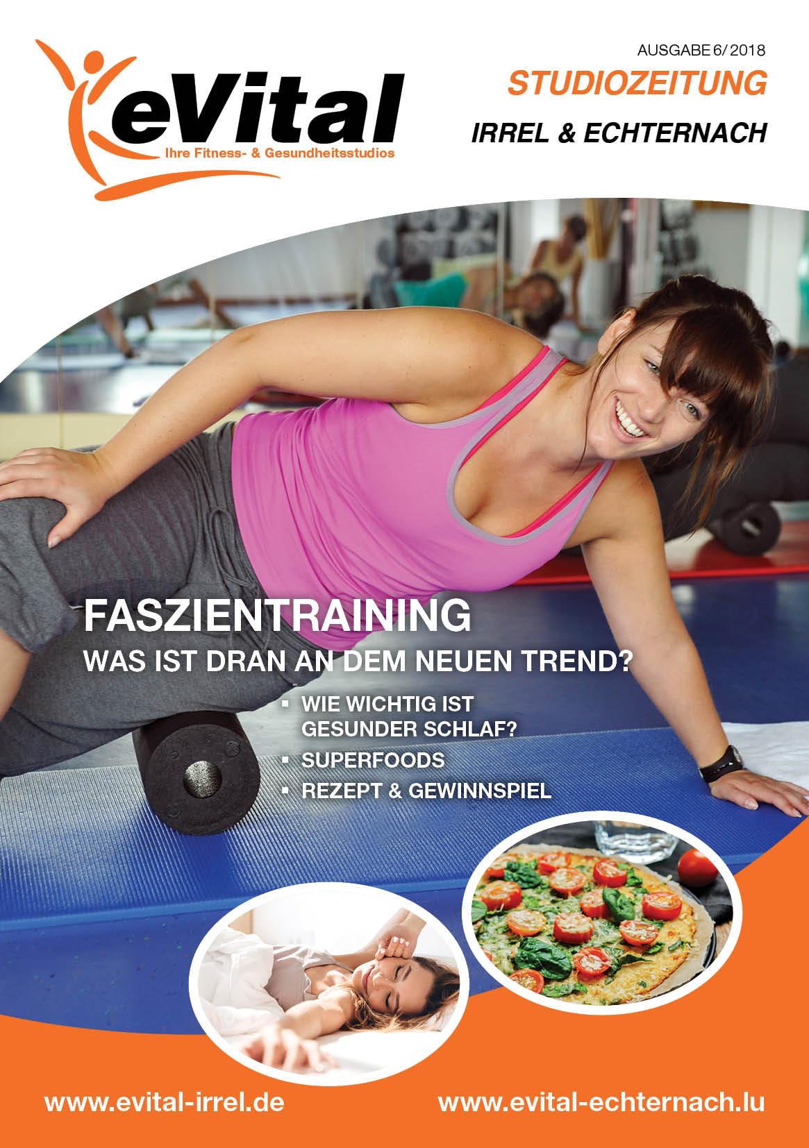 Studiozeitung Ausgabe 6 - eVital Fitness- und Gesundheitsstudio Premium-Club Irrel