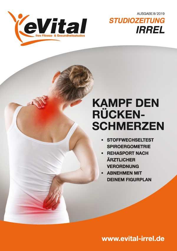 Studiozeitung Ausgabe 8 - eVital Fitness- und Gesundheitsstudio Premium-Club Irrel
