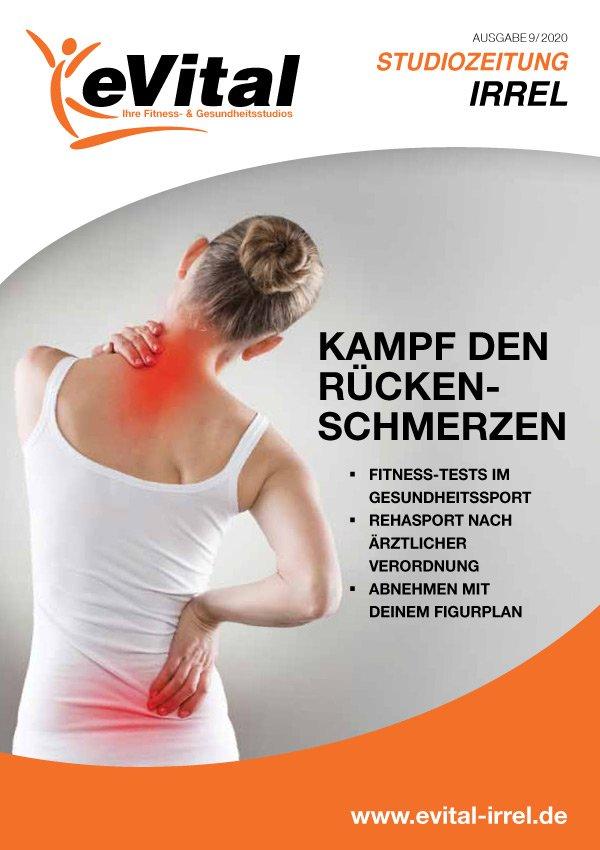 Studiozeitung Ausgabe 9 - eVital Fitness- und Gesundheitsstudio Premium-Club Irrel