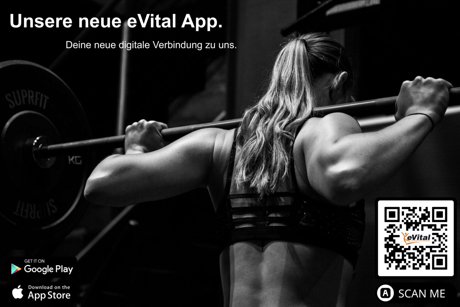 Infos zur eVital Club App - eVital Fitness- und Gesundheitsstudio Premium-Club Irrel